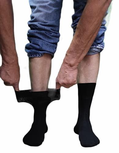 Pack 12 Calcetines sin goma de descanso transpirables unisex TALLA 40-46