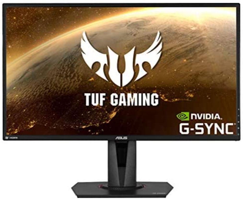 Monitor ASUS TUF Gaming VG27AQ - 27 pulgadas WQHD (2560 x 1440) IPS 165Hz
