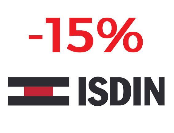 -15% en Isdin + regalo bolsa impermeable comprando 2 fotoprotectores