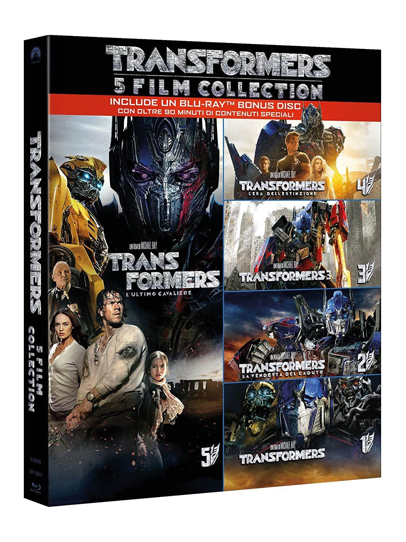 Transformers coleccion completa en ingles e italiano
