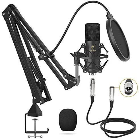 Kit Micrófono Condensador +Extras