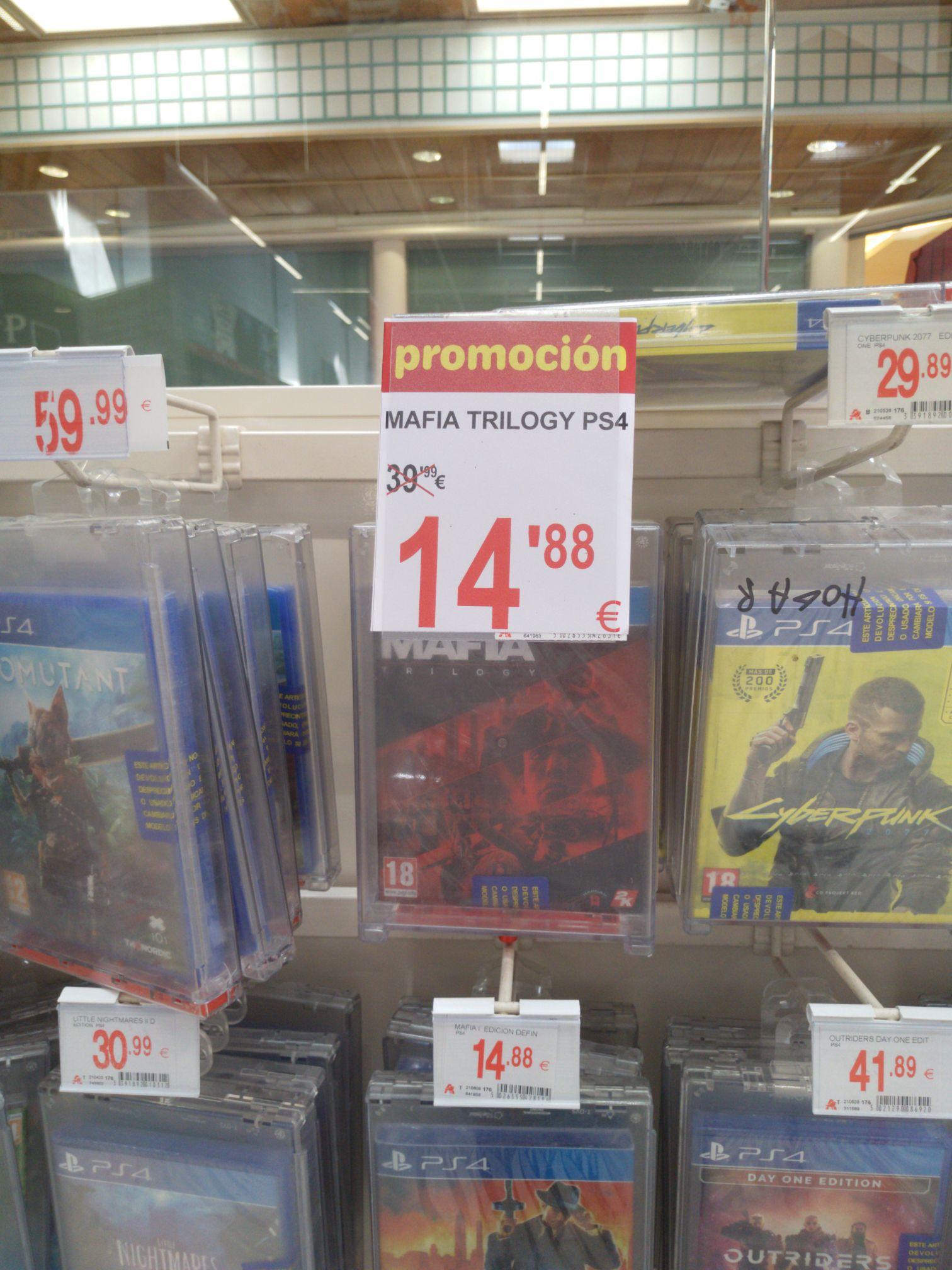 Mafia Trilogy PS4 en Alcampo Mallorca