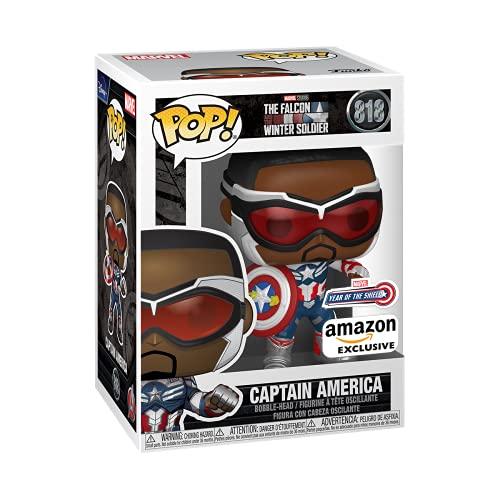 Funko 51650 POP: Marvel Year of the Shield - Captain America (Exclusivo Amazon)