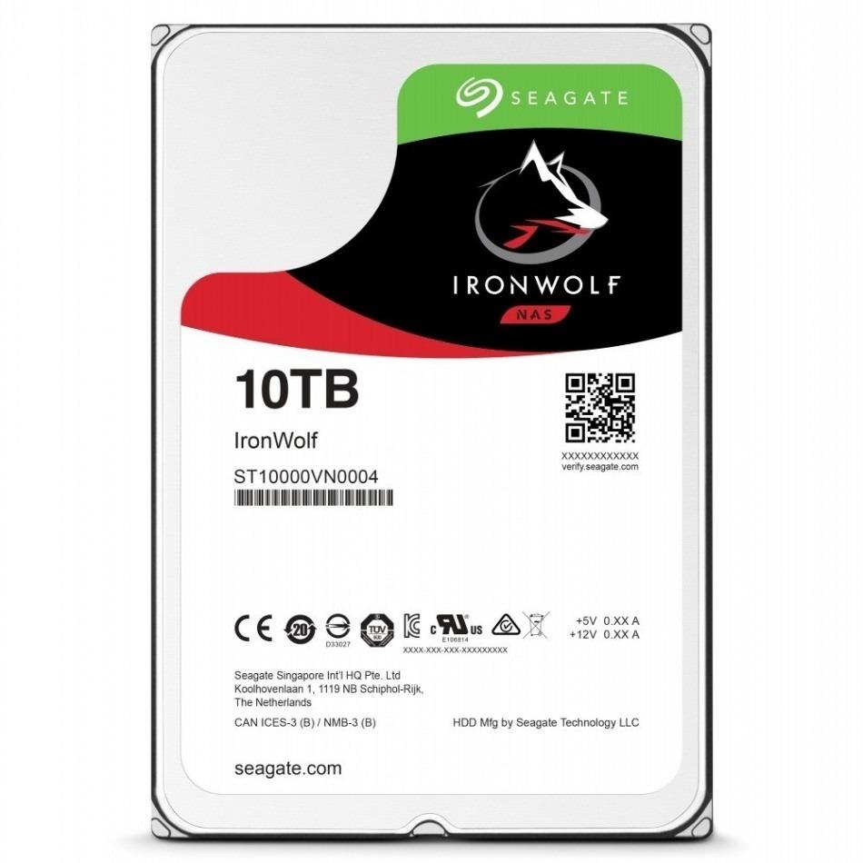 Seagate IronWolf NAS 10TB SATA3