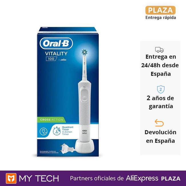 Cepillo Oral-B Vitality 100 desde España por solo 12€