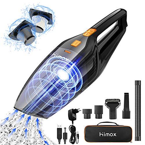HIMOX Aspirador de Mano Sin Cable