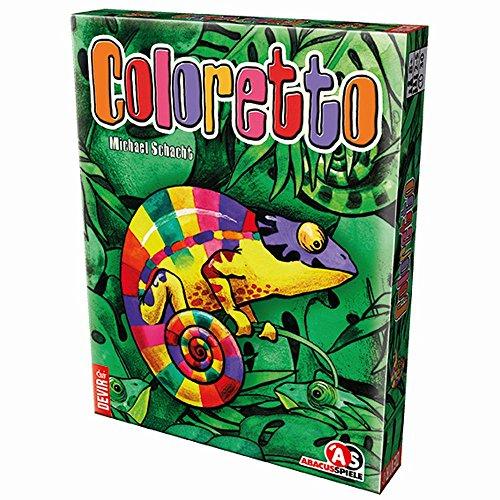 Coloretto Juego de Mesa DEVIR