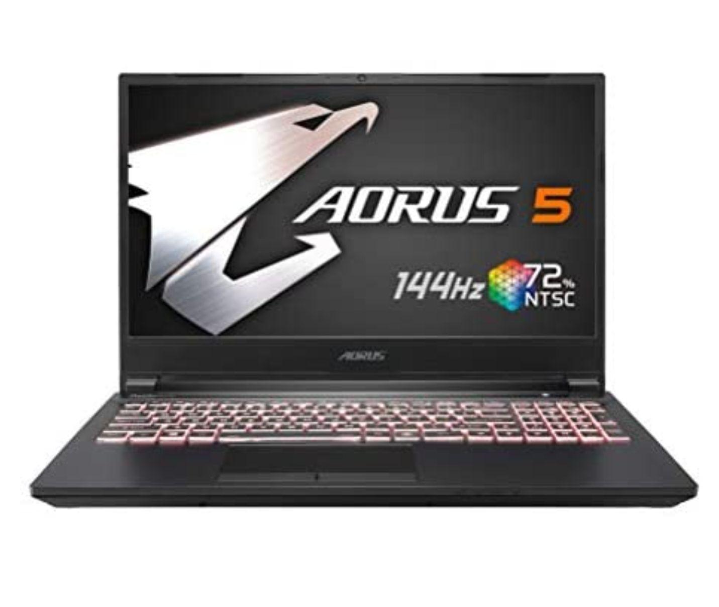 "Gigabyte AORUS 15.6"" FHD 144Hz i7-10750H, 16GB RAM, 512GB SSD GTX1660Ti-6GB"