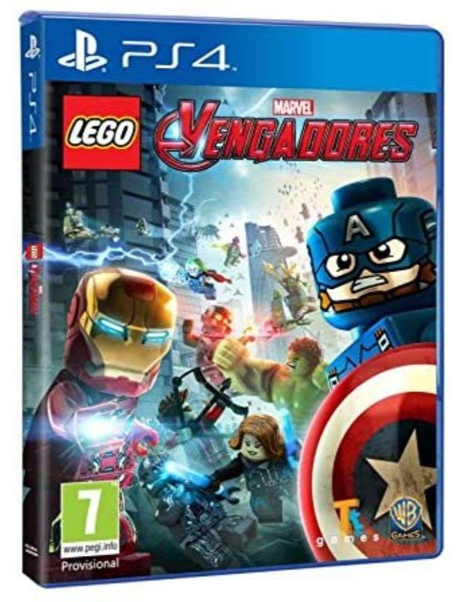 Lego Vengadores PS4 FÍSICO