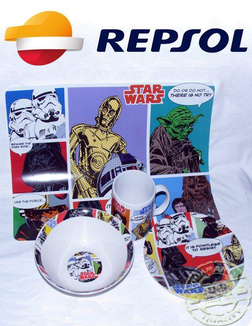 Vajilla Star Wars a 1€/pieza