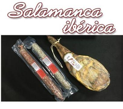 Lote paleta gran reserva + 1kg de chorizo ibérico + 1kg de salchichón ibérico