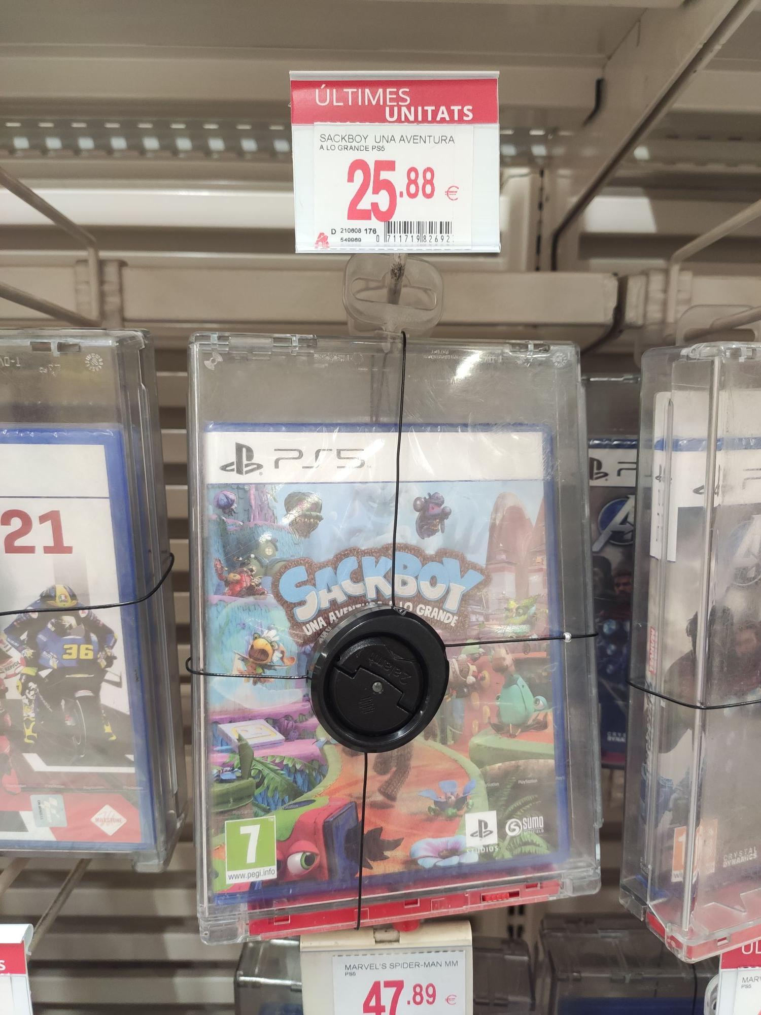 Sackboy: Una Aventura a lo Grande (PS5)