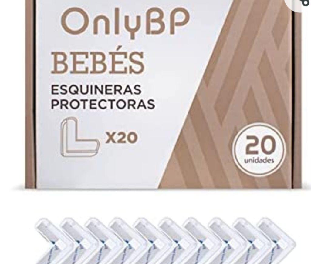 Kit de 20 protectores de esquinas para bebés