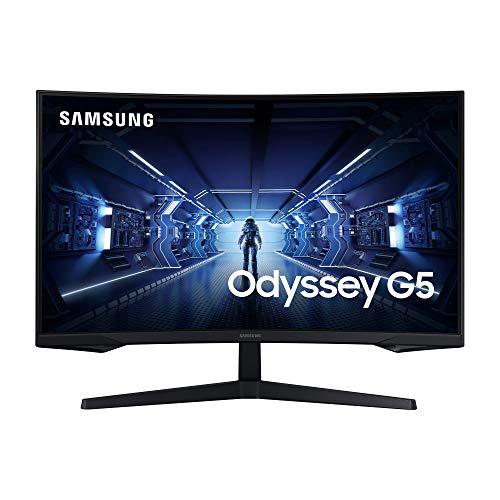 Samsung Monitor curvo 32'' WQHD 144 Hz, 1 ms, HDR10, AMD FreeSync Premium