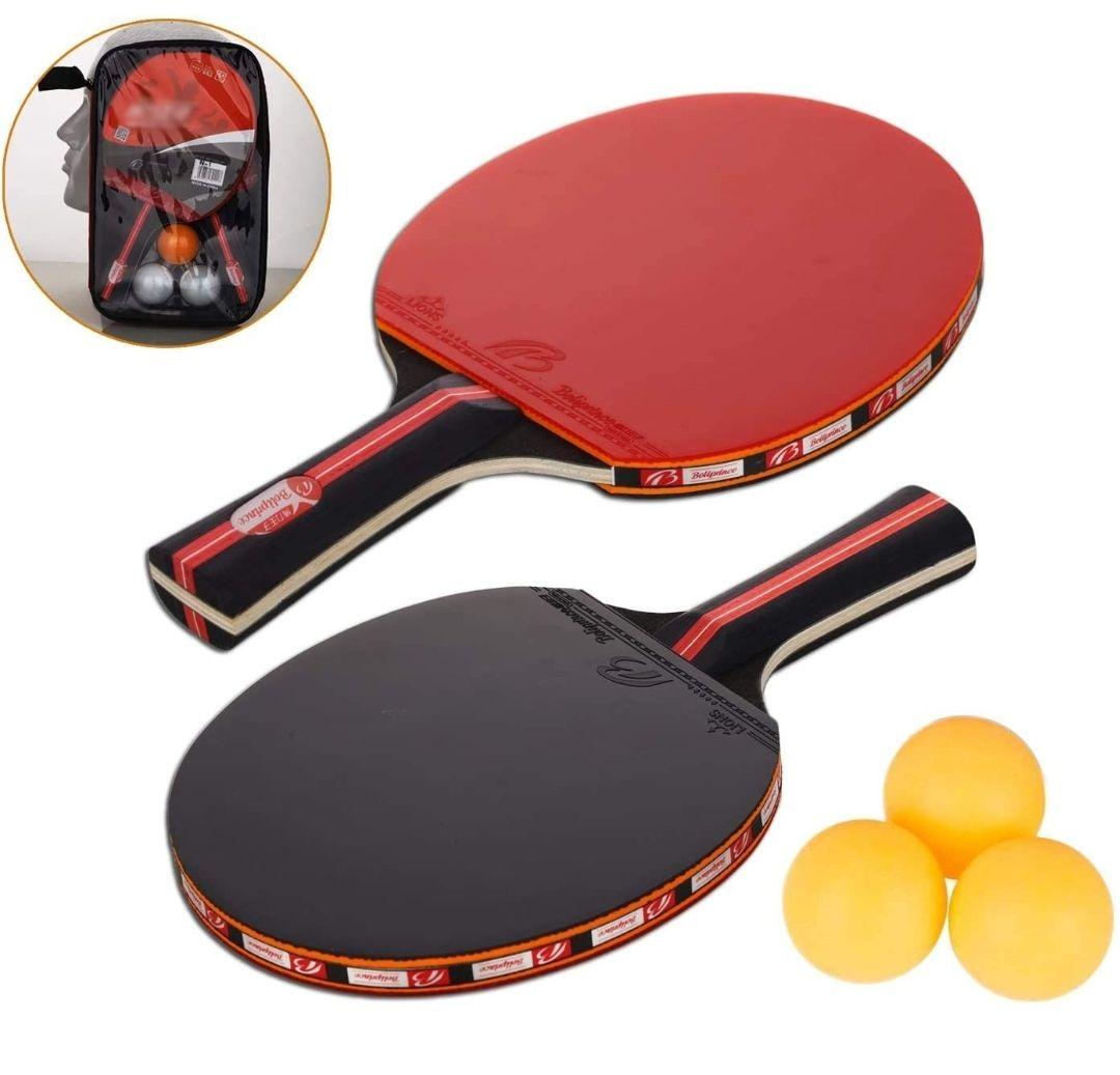 2 palas de Ping Pong + 3 pelotas y bolsa de transporte