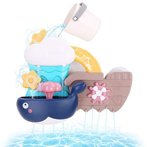 Juguete cascada para la bañera,ducha divertida para los peques
