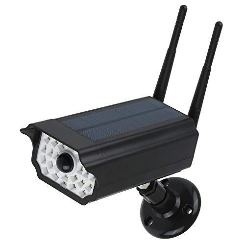 Luz LED Solar con sensor de movimiento y Cámara Falsa de Seguridad, por 13,99€