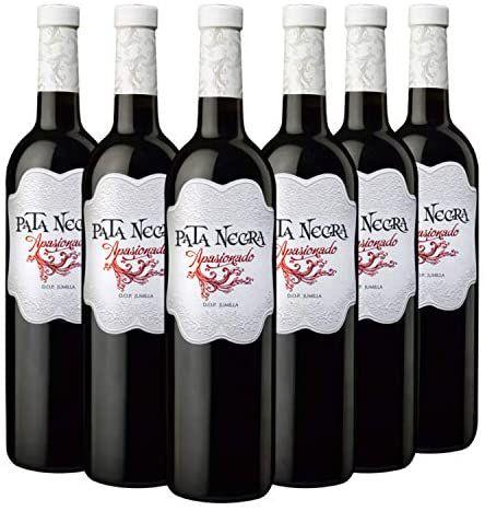 Pata Negra Apasionado - Vino Tinto D.O Jumilla - Caja de 6 Botellas x 750 ml