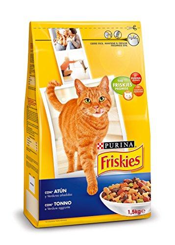Purina friskies gato, atun y verduras, 6 x 1'5kg