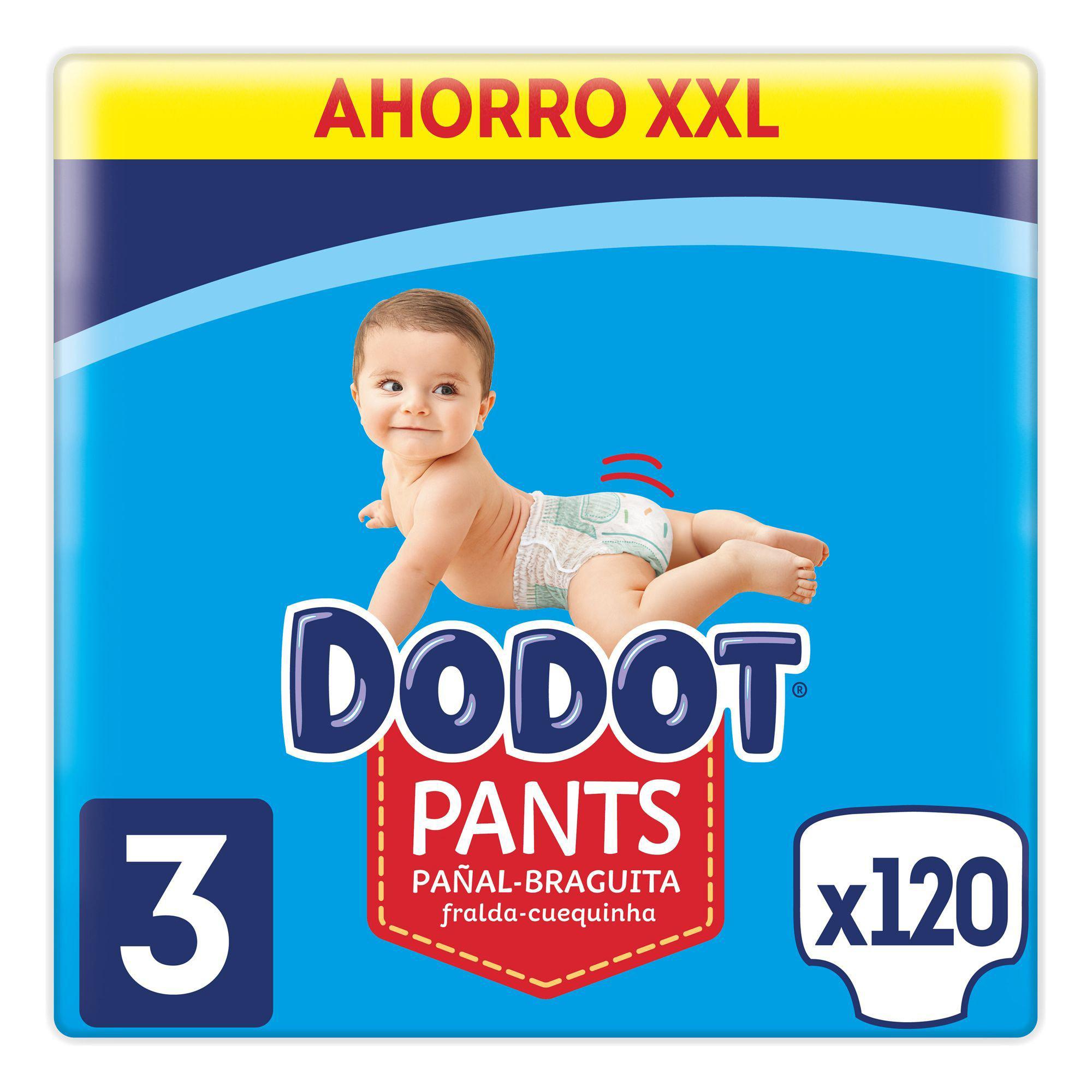Pañales Dodot Pants 9,5ctmos la unidad