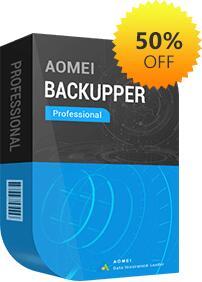 AOMEI Backupper Professional [Actualizaciones de por vida]