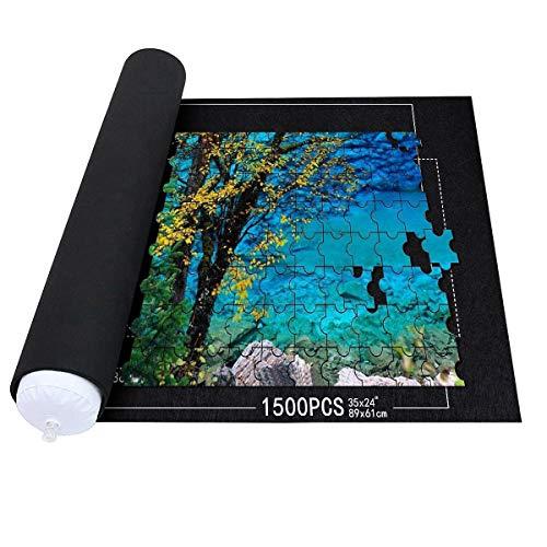 Roll-mat puzzle. Alfombrilla para puzzles