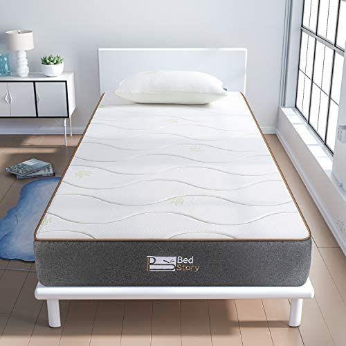 BedStory Colchon Viscoelastico Aloe Vera (90x190cm )