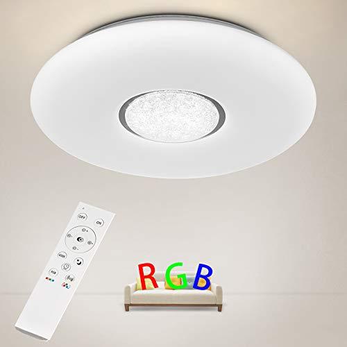 Lámpara de techo regulable con mando a distancia 36 W