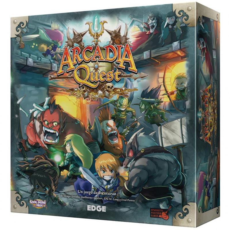 Arcadia Quest - Juego de mesa