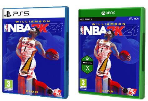 NBA 2K21 para PS5 o Xbox Serie X [Formato físico]