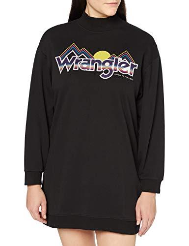 Vestido sudadera de la marca wrangler talla m