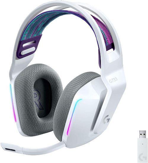 Auriculares Logitech G733 LIGHTSPEED Blanco RGB