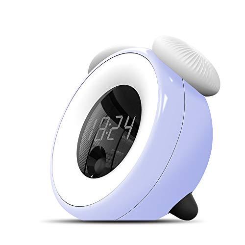 Despertador con luz LED, con carga Usb por 6,71€