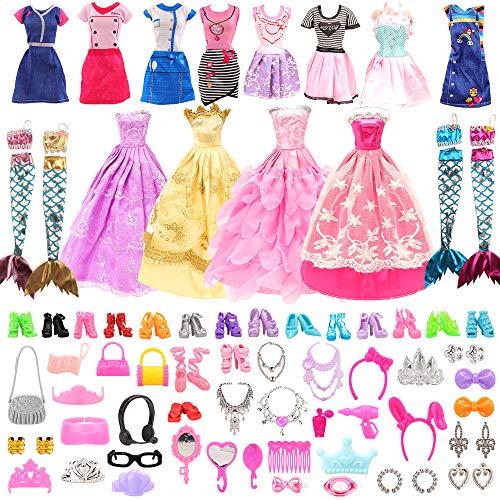 62 accesorios para Muñeca