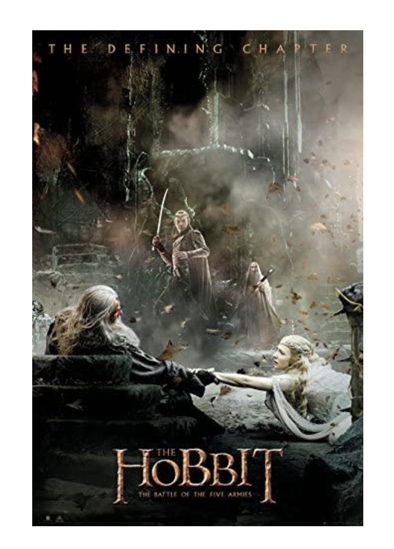 Maxi poster GB Eye LTD, The Hobbit, La Batalla de los Cinco ejércitos After, 61 x 91,5 cm