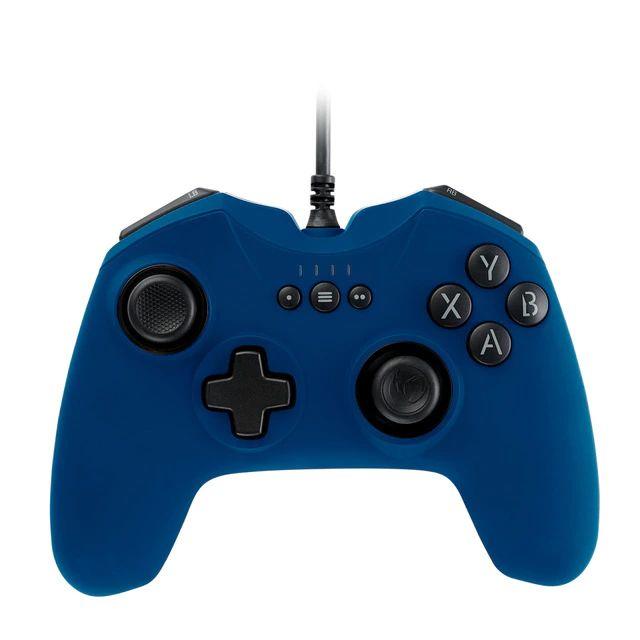 Nacon - Mando para videojuegos GC-100, (Color Azul y Rojo) (PC)