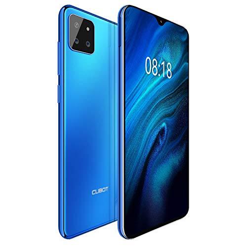 "CUBOT X20pro 4G Android 9.0 Teléfono Movil Libre Pantalla 6,3"" 6GB RAM 128GB ROM, Batería 4000mAh (Azul)"