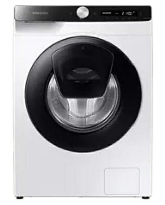 Lavadora carga frontal - Samsung WW80T554DAE, 8 kg, 1400 rpm, 22 programas, WiFi, AddWash, Blanco