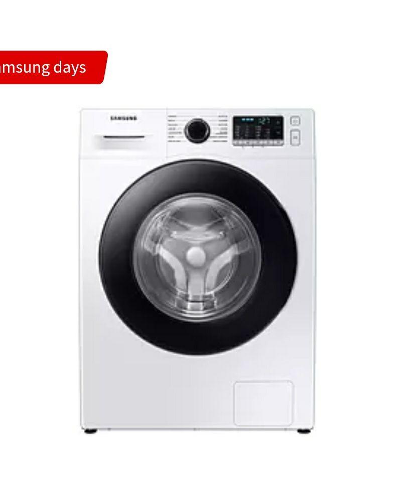 Samsung WW90TA046AE/EC, 9 kg, 1400 rpm, EcoBubble, 14 programas, Blanco