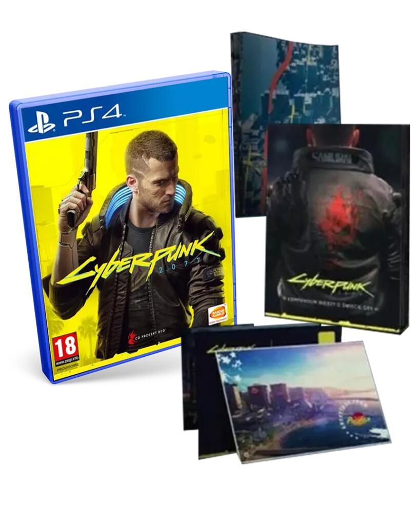 CyberPunk 2077 edición Day One para PS4