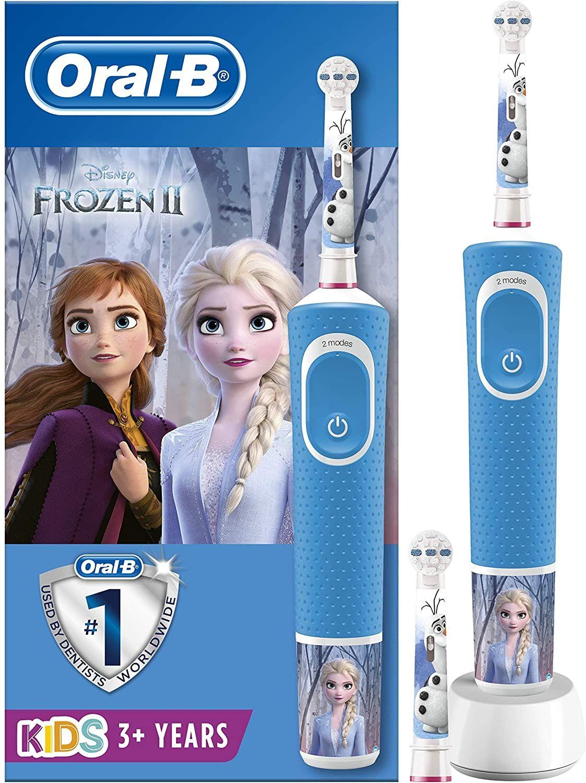 Cepillo de dientes infantil oral-b disney frozen