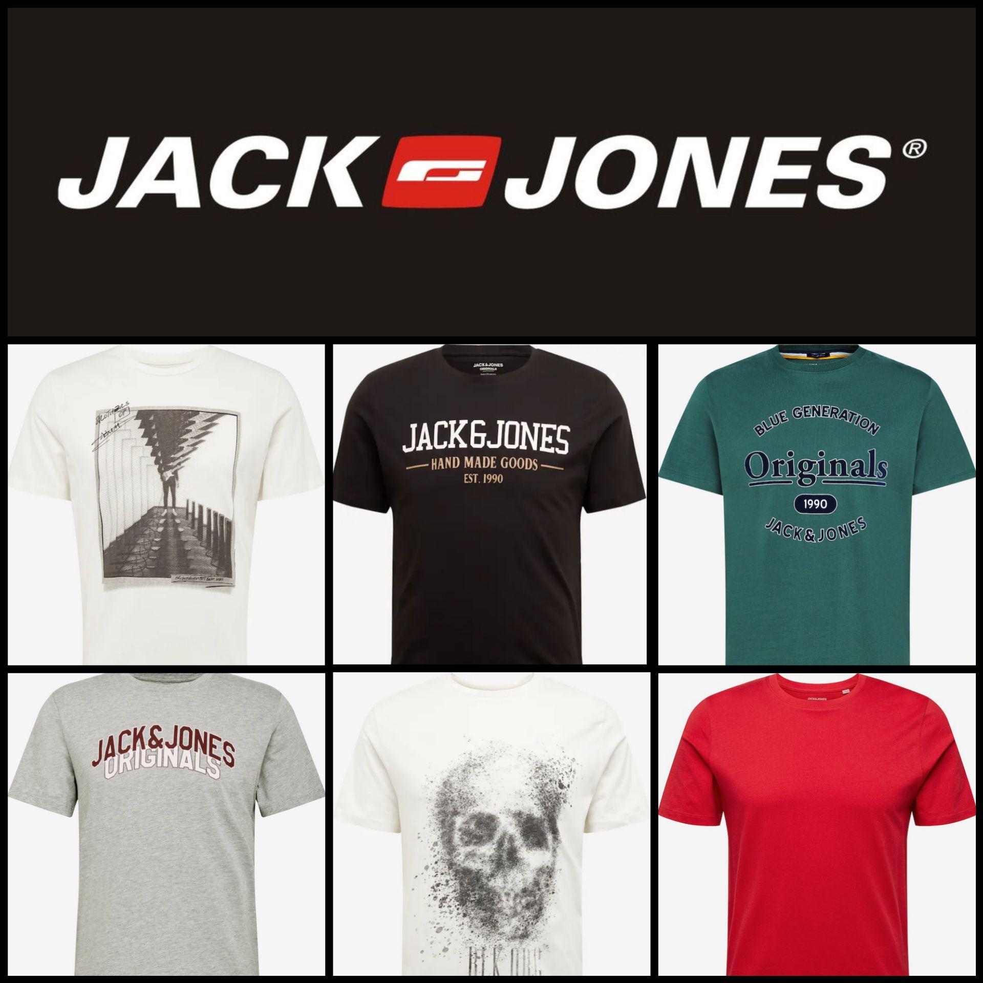 Recopilación Camisetas Jack&Jones por 6,93€ y 8,93€ + Envío Gratis
