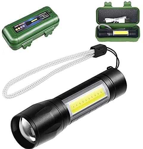 Linterna LED Recargable de Alta Potencia
