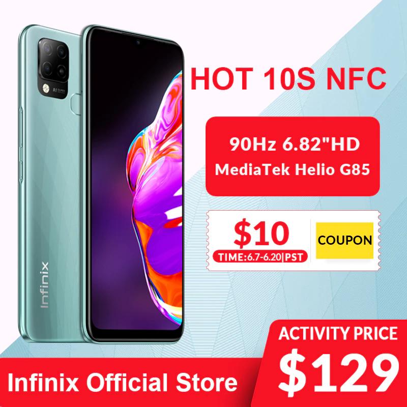 Infinix Hot 10S NFC 4GB/64GB Versión EU