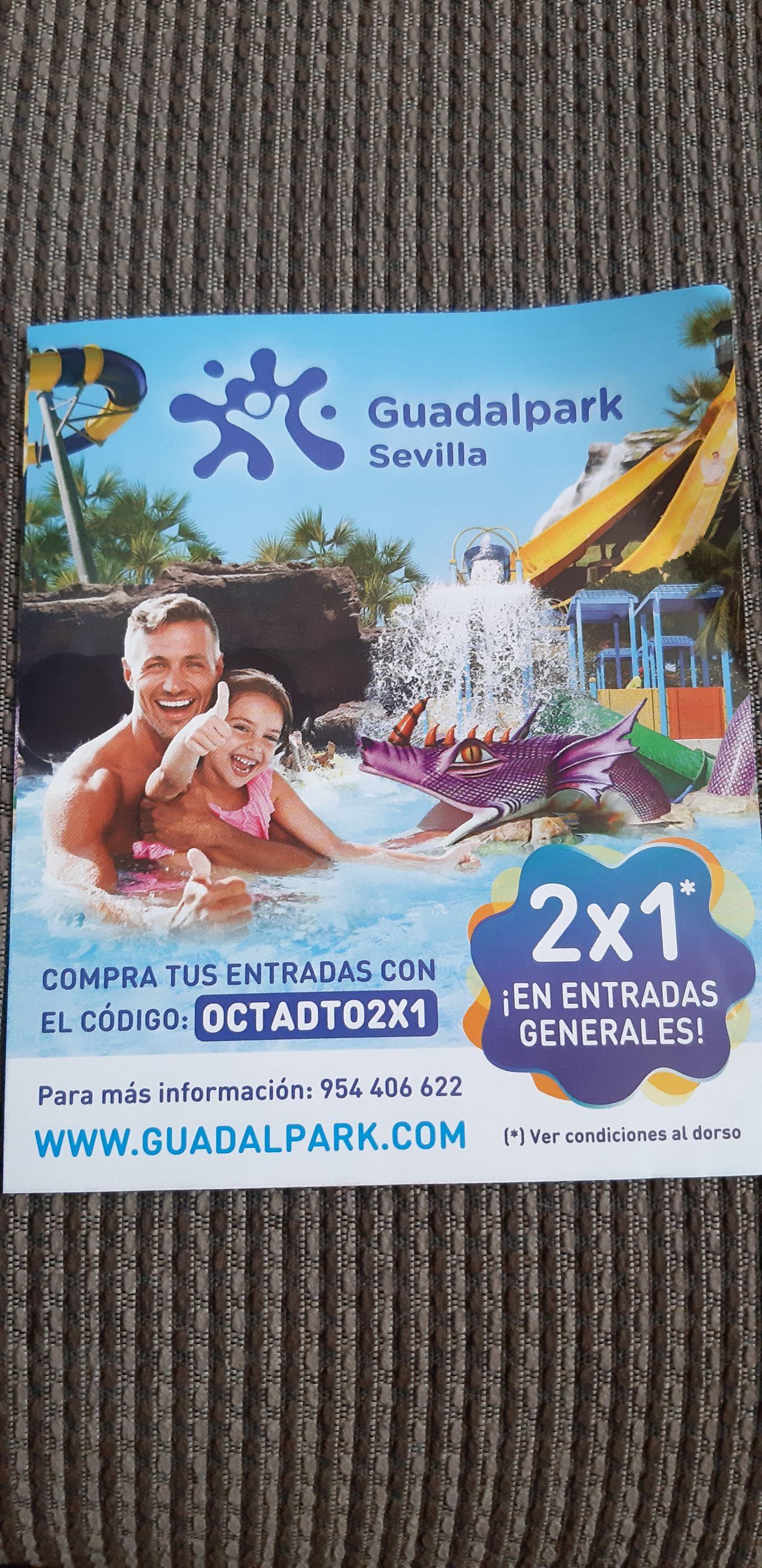 2x1 en entradas generales de guadalpark Sevilla