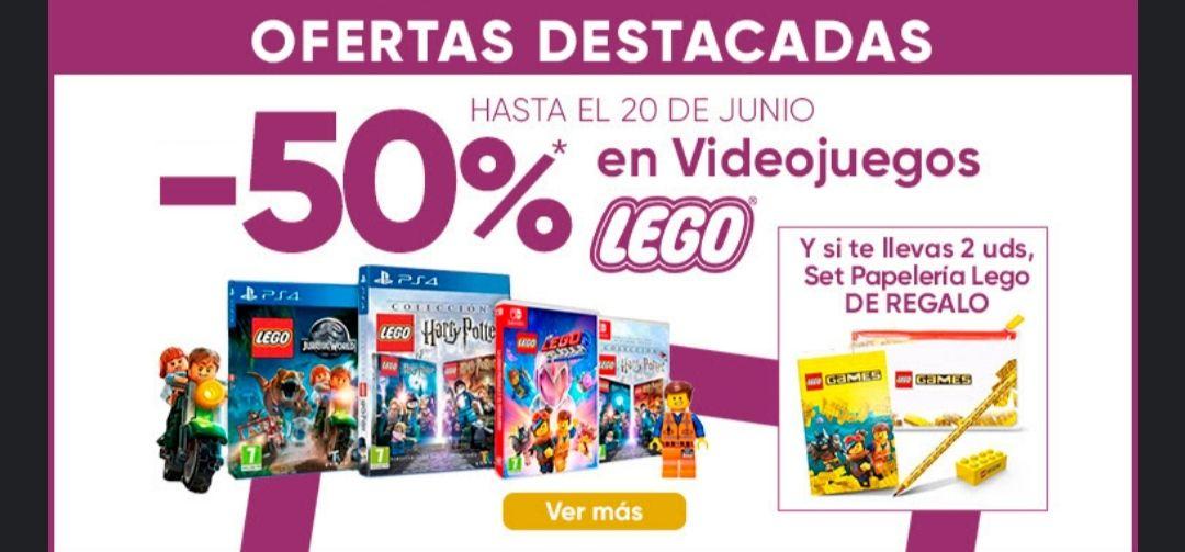 50% juego Lego para PS4, Xbox y Switch