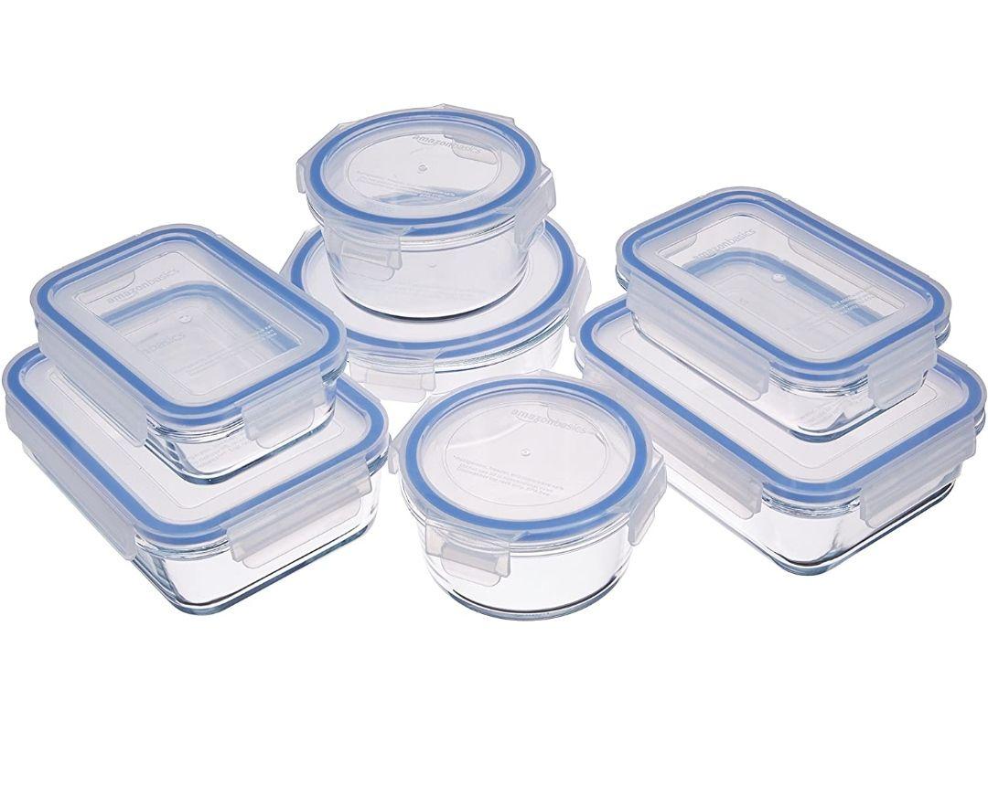 Recipientes de cristal para alimentos, sin BPA
