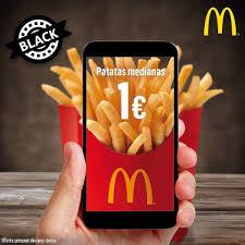 Patatas Medianas 1€  McDonald