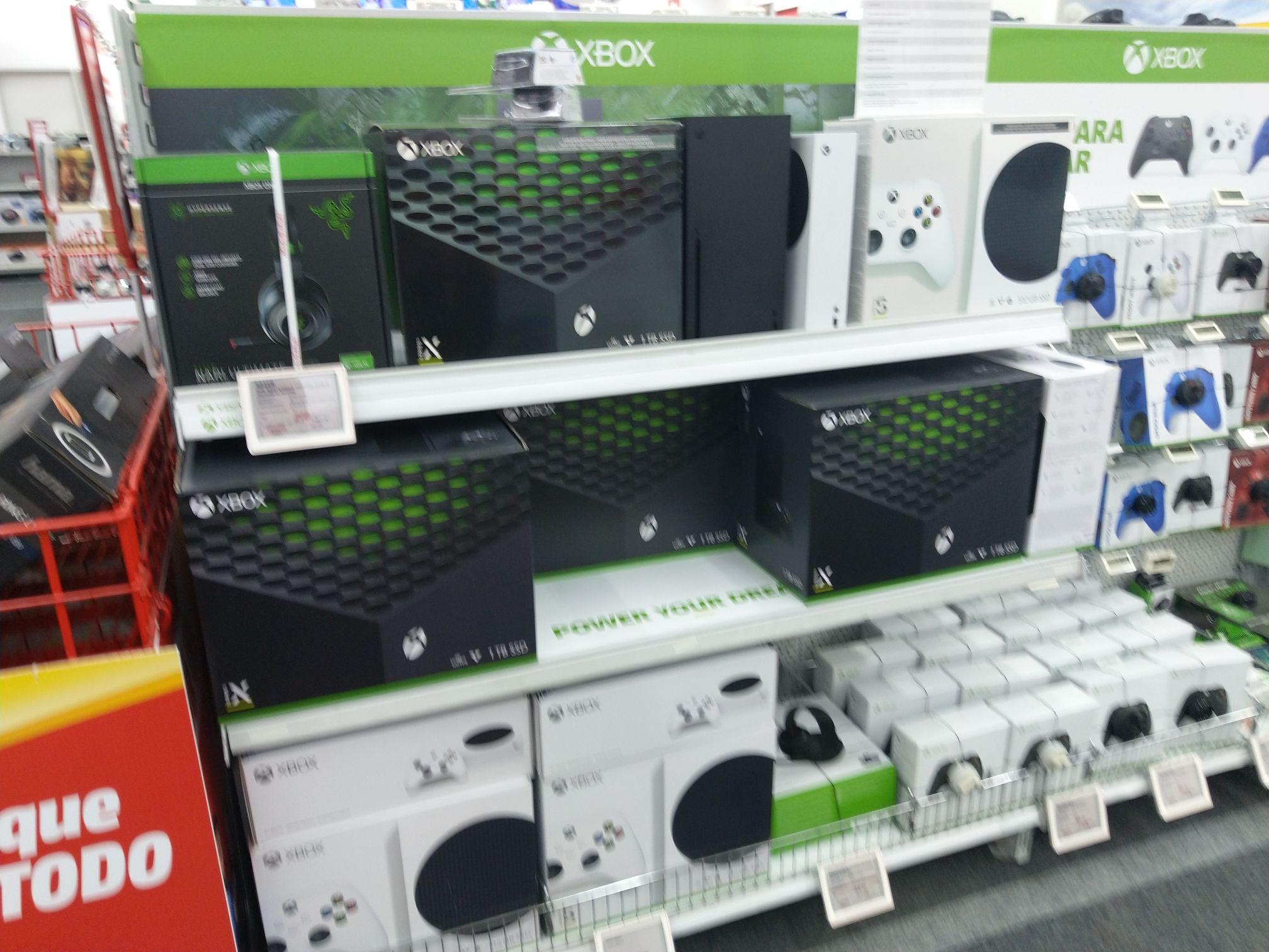 Xbox Series X Mediamarkt Madrid Paseo de la Castellana
