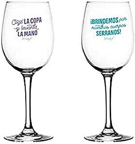 Set de 2 Copas de Vino para Brindar por Nuestra Amistad Mr. Wonderful